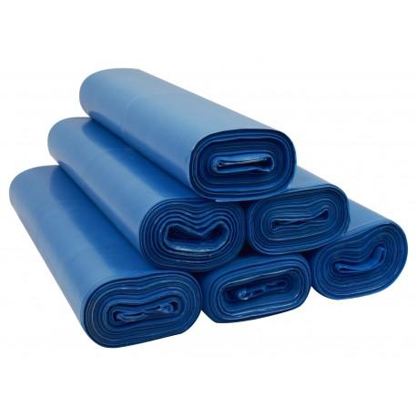 Worki 35l LDPE 50szt niebieskie