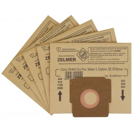 Worki do odkurzacza Zelmer 2000/ 321 5szt.