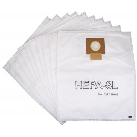 Worki HEPA 8l VIPER 10szt. oryginał