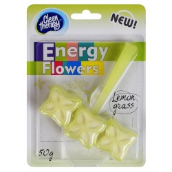 Zawieszka do WC Energy Flowers lemon grass