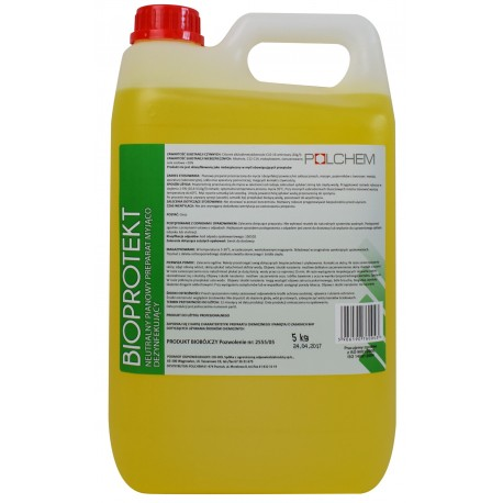 BIOPROTEKT 5 kg do mycia i dezynfekcji