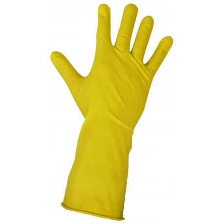 Rękawice gumowe gospodarcze M