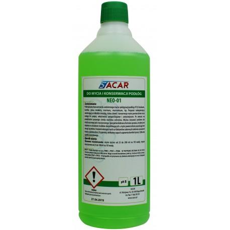 NEO-01 płyn do mycia posadzek 1l zielony