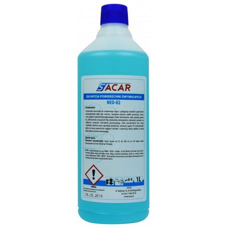 NEO-02 płyn do mycia posadzek 1l niebieski