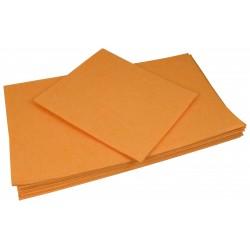 Ścierka mikrowł. pomarańczowa 50x60cm