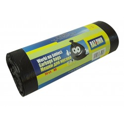 Worki 60l HDPE 50szt czarne