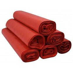 Worki 120l LDPE 25szt czerwone