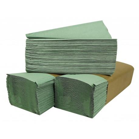 Ręczniki ZZ zielone 4000