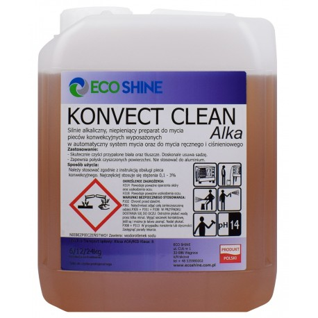 KONVECT Clean Alka 6kg płyn do mycia piecy