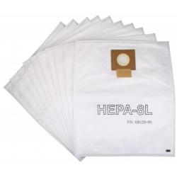 Worki HEPA 8l VIPER DSU 10szt. oryginał