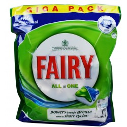 FAIRY All In One kapsułki do zmywarki 86szt.