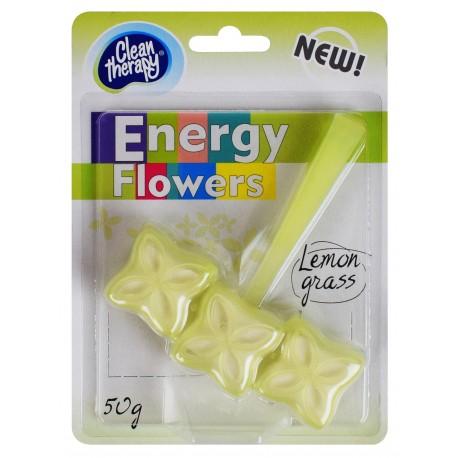 Zawieszka do WC Energy Flowers lemon grass