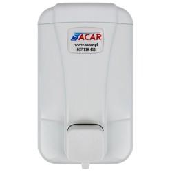Dozownik mydła w płynie 0,5l SACAR biały