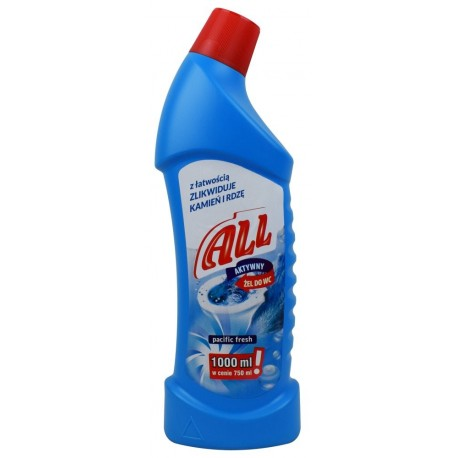 Żel do WC ALL pacific fresh 750ml
