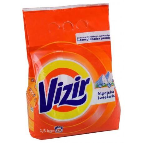 Proszek do prania VIZIR 1,5kg alpine fresh