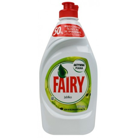 FAIRY do mycia naczyń 450ml Apple