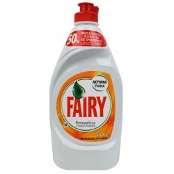 FAIRY do mycia naczyń 450ml Orange & Lemon