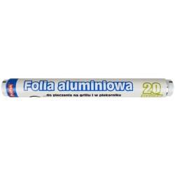 Folia aluminiowa 20m szer. 28cm PolPak
