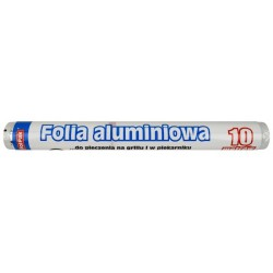Folia aluminiowa 10m szer. 28cm PolPak