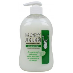 Biały Jeleń mydło naturalne w płynie 500ml