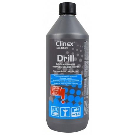 CLINEX Drill 1l żel do udrażniania rur