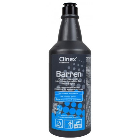 CLINEX Barren 1l do mycia i dezynfekcji