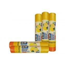 Worki zapachowe 60l 10szt cytrynowe