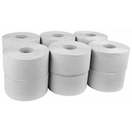 Papier toal. JUMBO szary 12szt.