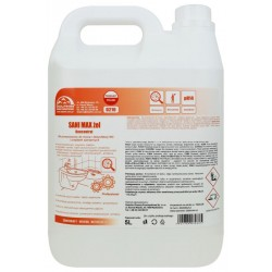 SANI MAX gel 5l chlorowy żel do WC