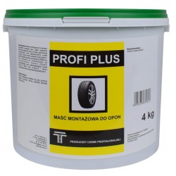 Maść montażowa do opon PROFI PLUS 4kg uniwersalna