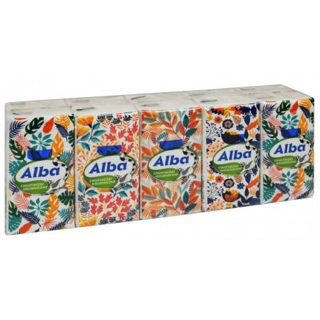 Chusteczki higieniczne Alba 10pak.