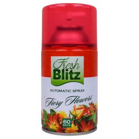 Wkład odświeżacz Fresh Blitz 260ml Fiery Flowers
