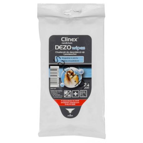 CLINEX DEZOWipes chusteczki dezynfekcyjne 24szt