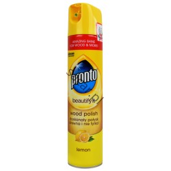 Pronto wood polish 250ml lemon