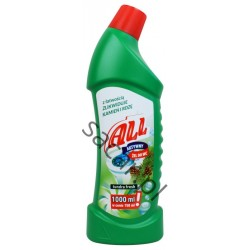 Żel do WC ALL tundra fresh 1l