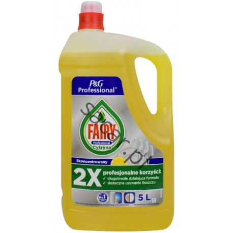 FAIRY do mycia naczyń 5l Lemon