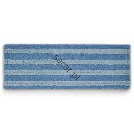 Nakładka mikrofibra 40cm DUO niebieska