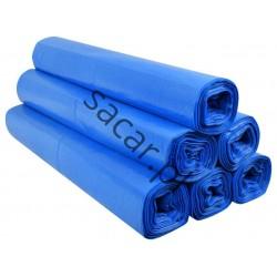 Worki 160l LDPE 25szt niebieskie