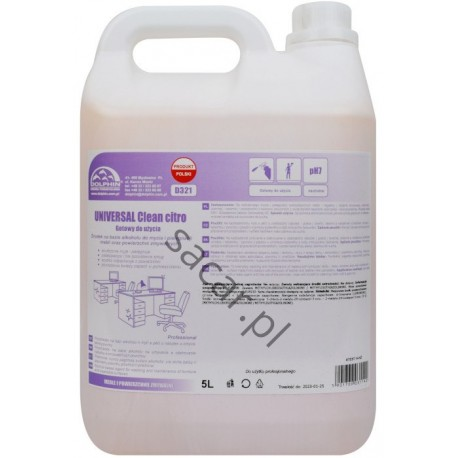 Universal CLEAN Citro 5l