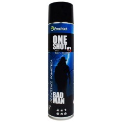 ONE SHOT Premium odświeżacz bad man 600ml