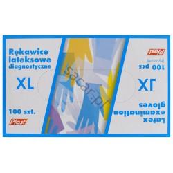 Rękawice lateksowe XL 100szt.