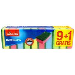 VILEDA gąbki zmywak Rainbow 10