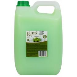 Mydło kremowe antybakteryjne ROSA 5l oliwka