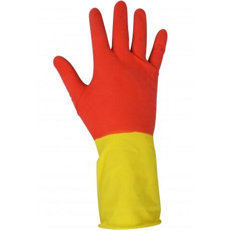 Rękawice gumowe gospodarcze MASTER M