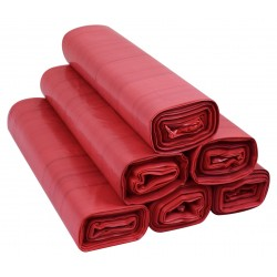 Worki 35l LDPE 50szt czerwone