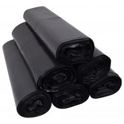 Worki 120l LDPE 25szt czarne
