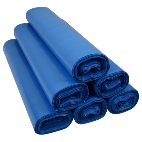 Worki 120l LDPE 25szt niebieskie