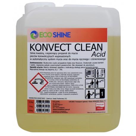 KONVECT Clean Acid 5,5kg płyn do mycia piecy