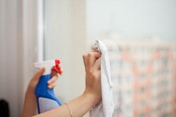 Mycie szklanych powierzchni
