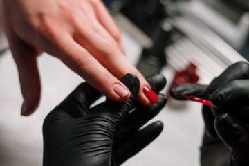 Rękawice Kosmetyczka